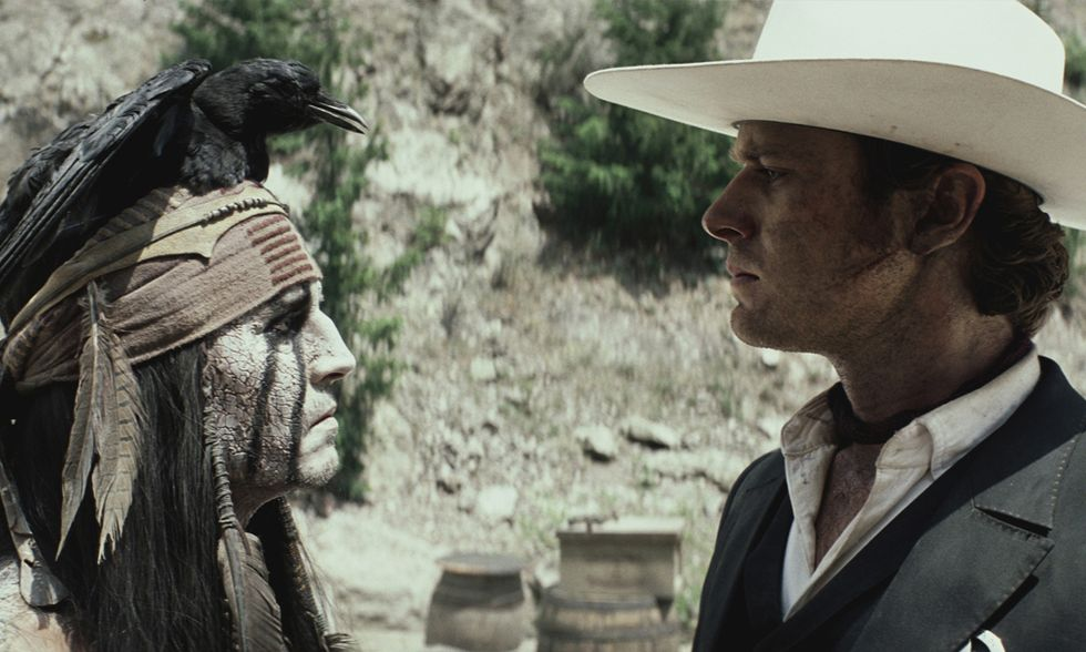 Dvd in edicola con Panorama: The Lone Ranger