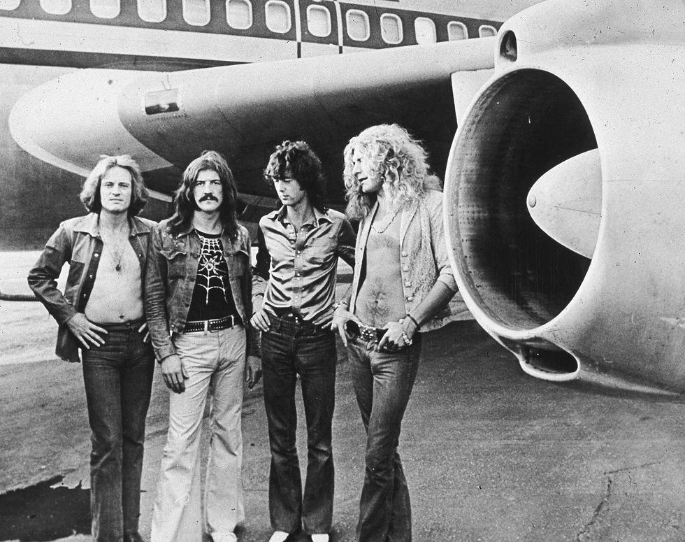 Led Zeppelin 1971: la notte da incubo al Vigorelli di Milano