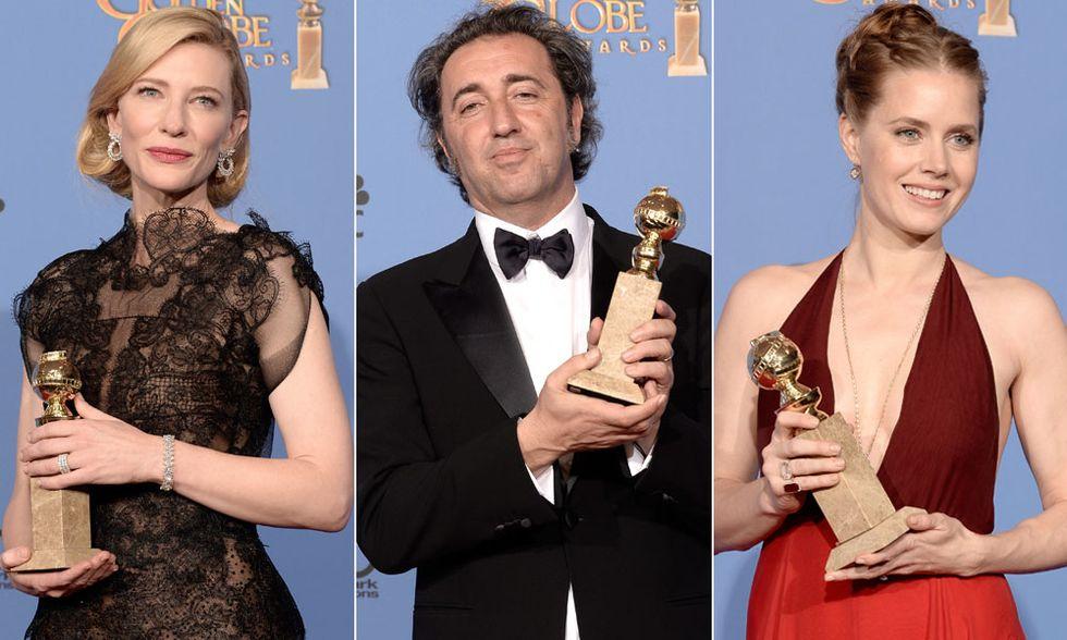 Golden Globe 2014, i vincitori in foto