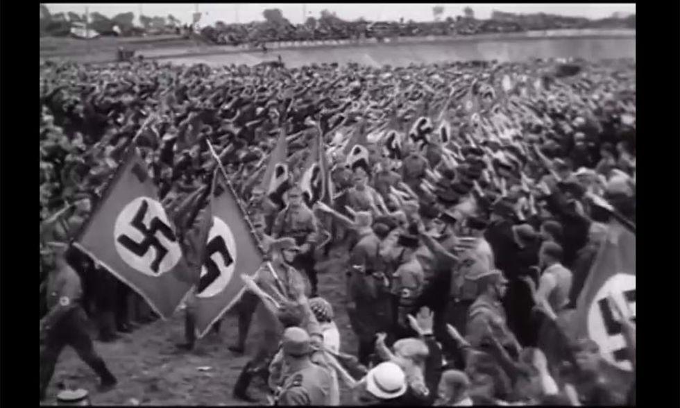 In un filmato la strada verso il genocidio nazista