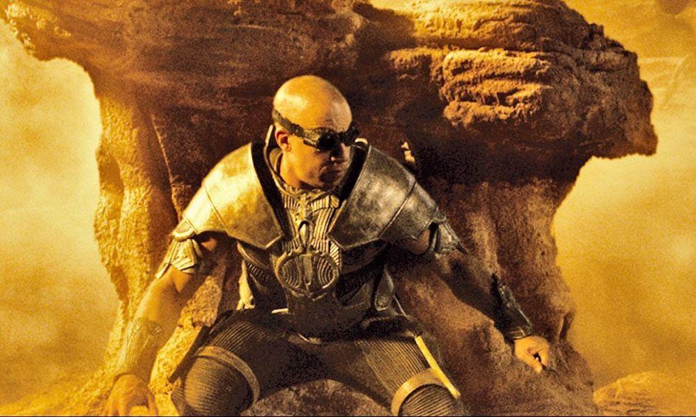 Dvd in edicola con Panorama, Riddick