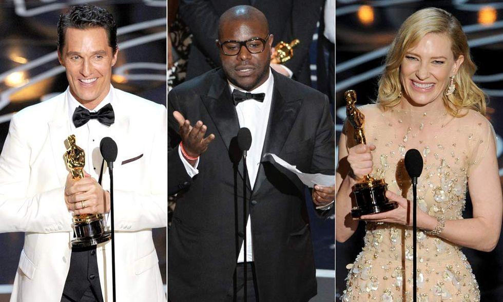 Oscar 2014, i vincitori in foto