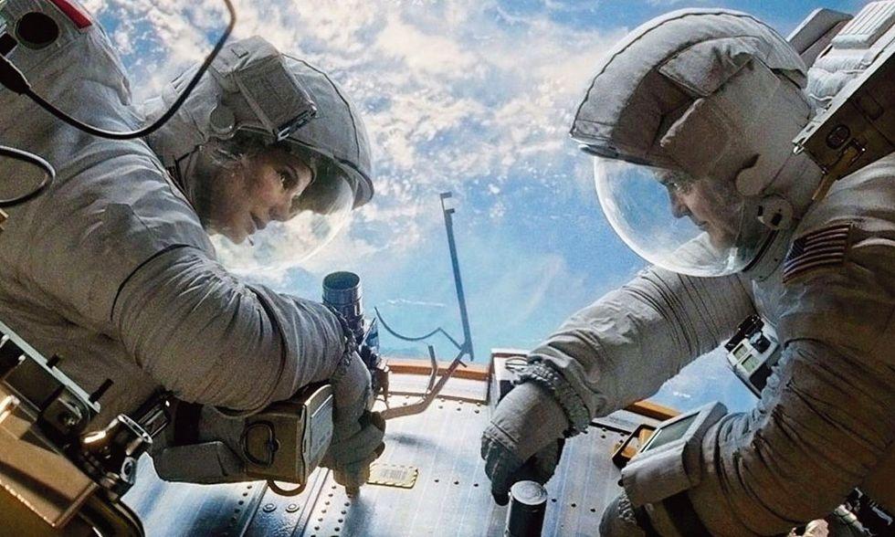 Dvd in edicola con Panorama, Gravity di Alfonso Cuarón