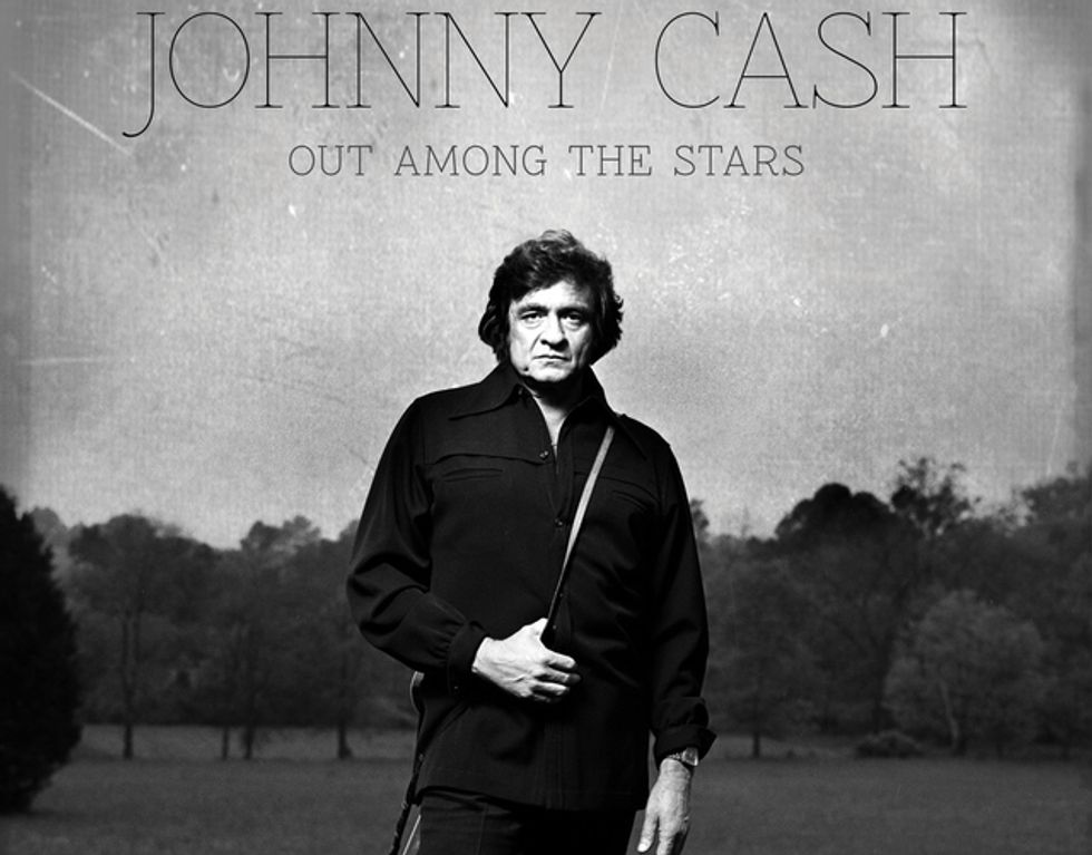 "Johnny Cash: esce l'album scomparso, ""Out among the stars"""