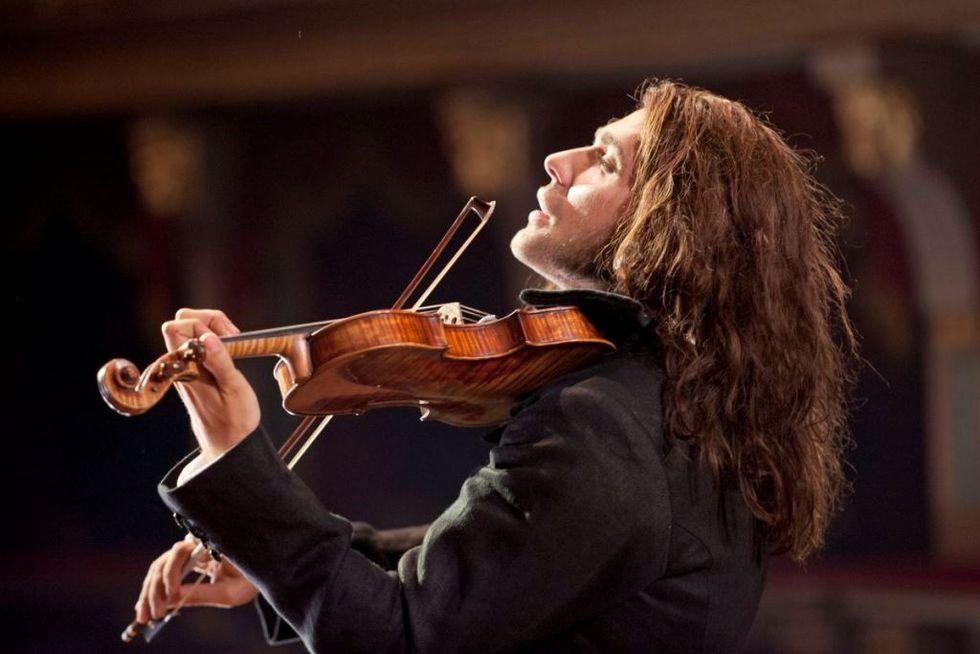 David Garrett incontra Niccolò Paganini