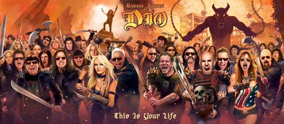 "Esce ""This is your life"", cd tributo a una leggenda dell'heavy rock: Ronnie James Dio"