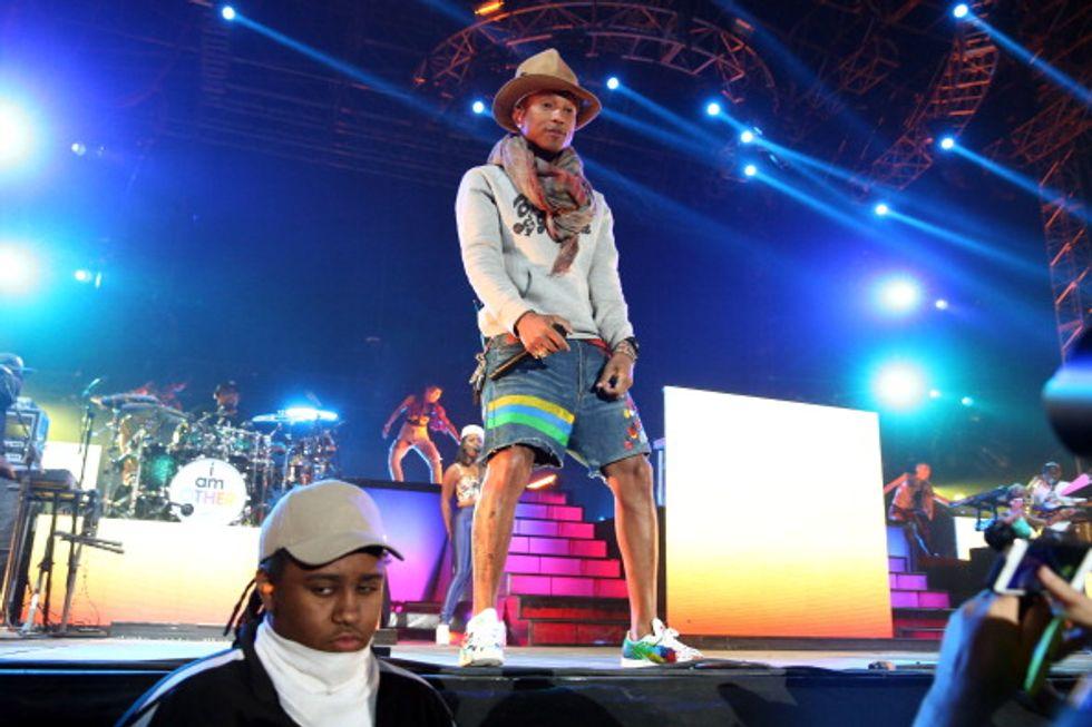 Coachella 2014, la seconda giornata: vince Pharrell Williams