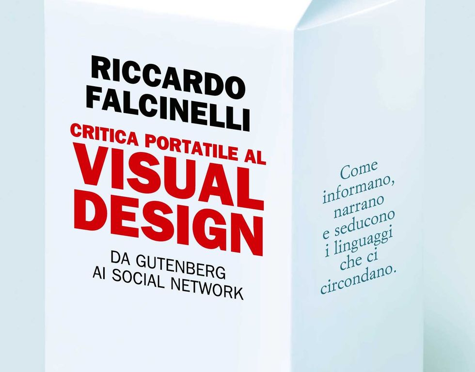 Riccardo Falcinelli, Critica portatile al visual-design