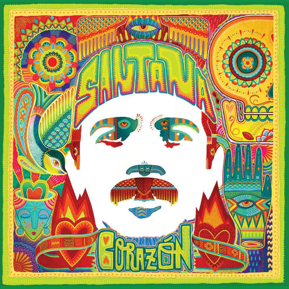 """Santana: la recensione del nuovo album, """"Corazòn"""""""
