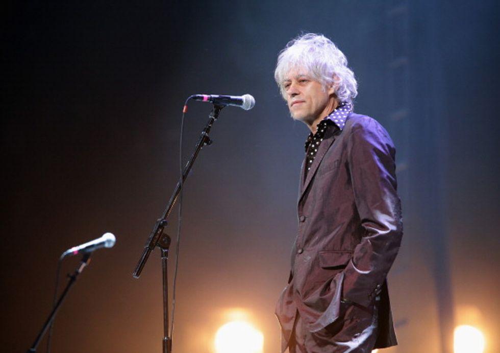 Bob Geldof: un concerto in Italia per ricominciare a vivere