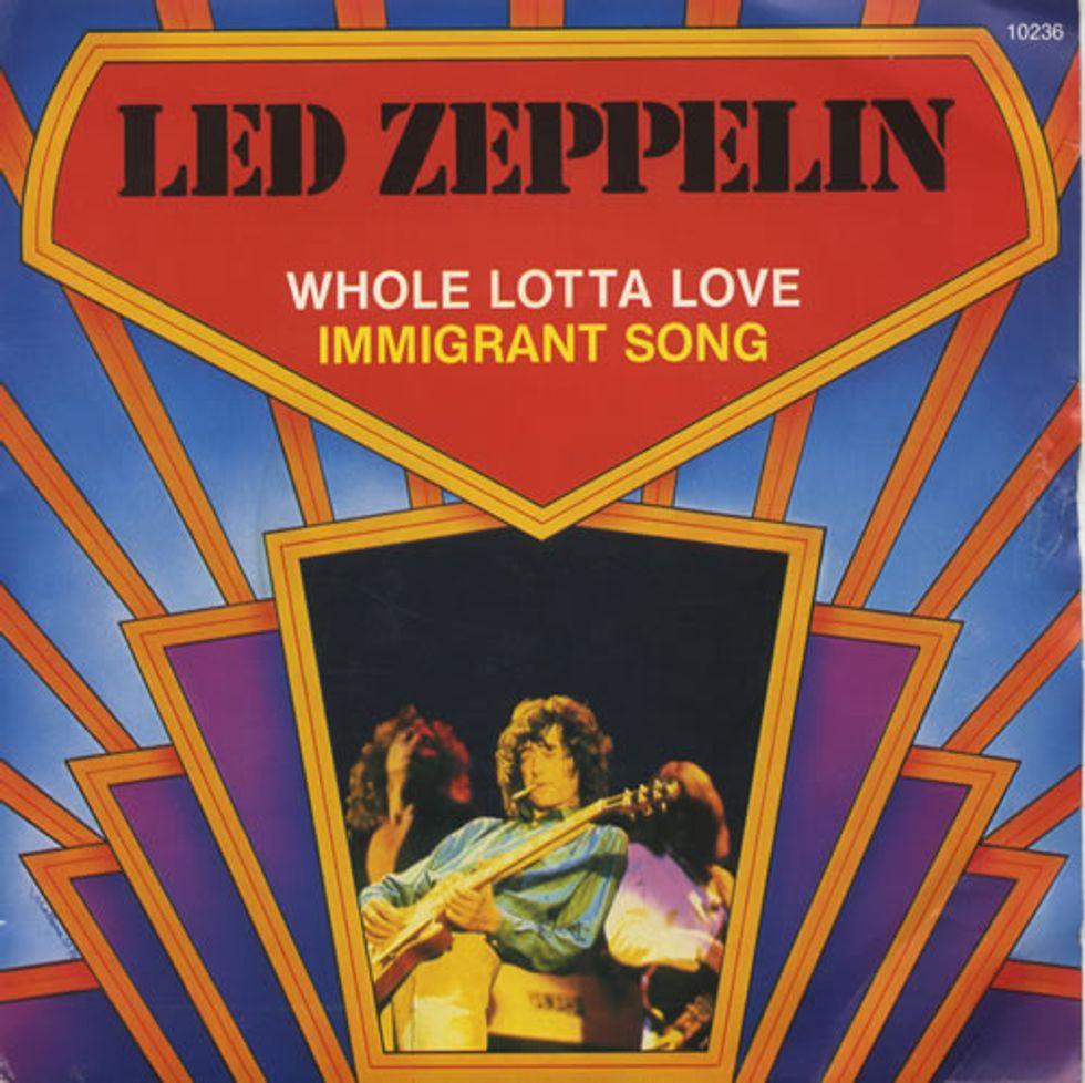 Led Zeppelin: esce il rough mix di Whole Lotta Love - il video