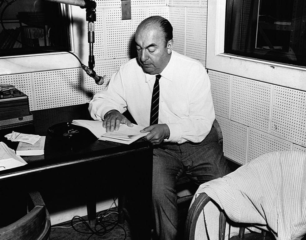 La voce di Pablo Neruda rivive online
