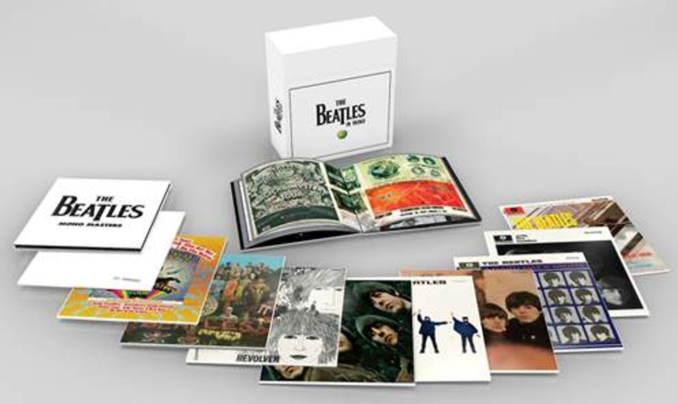 Beatles: tornano i mitici album mono dei Fab Four