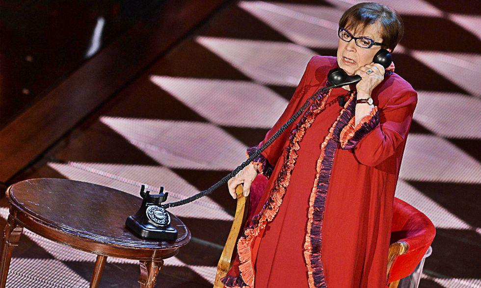 """Franca Valeri: """"Hanno scritto che ho il Parkinson.Non è vero. E a 94 anni torno in scena"""""""