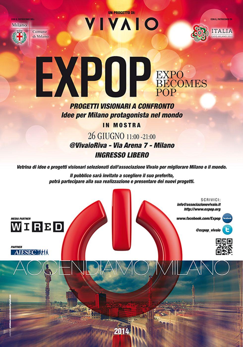 Progetti per un'Expop al Vivaio Riva