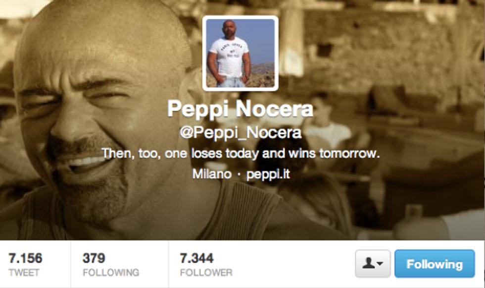 Peppi Nocera: Non so se ringraziarti o prendermela per avermi scambiato con Belen Rodriguez