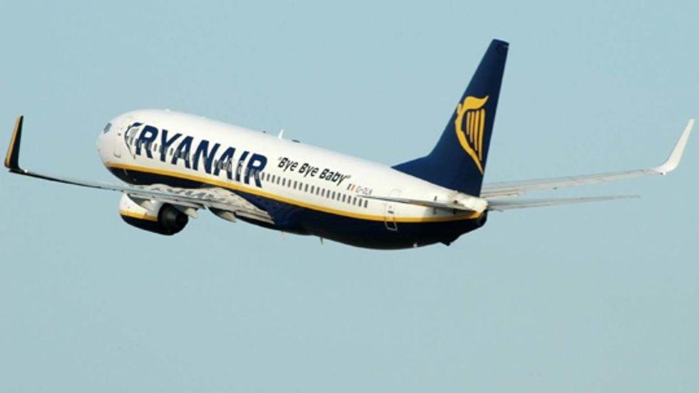 Ryanair: viaggi in piedi con una sterlina