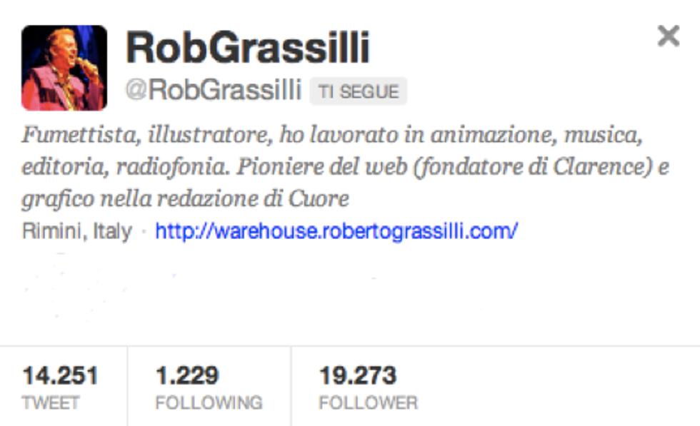 @RobGrassilli: mi offro volentieri per fare l'anziano sopravvissuto e sputasentenze