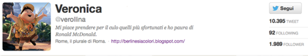 @verollina: vorrei essere un'ereditiera stile Paris Hilton, però con un cane serio