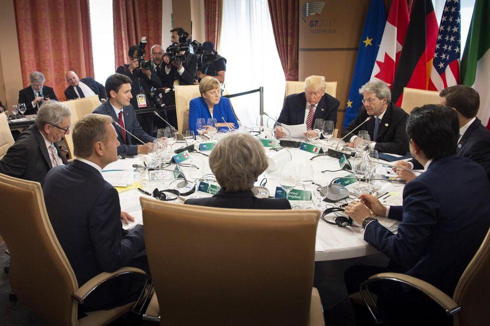 G7 di Taormina: un inizio tutto in salita