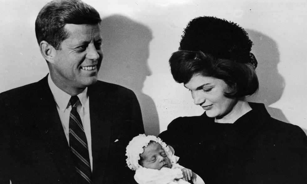 John F Kennedy battesimo John Jr