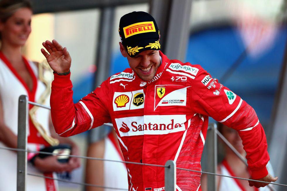 Ferrari Formula Uno mondiale 2017 Gp Montecarlo