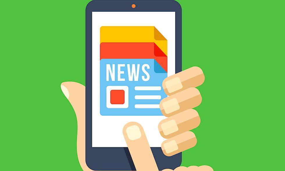 news web smartphone app