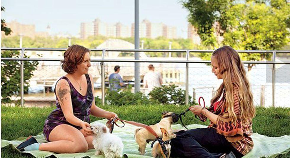GIRLS: foto della seconda stagione. E pronti con la terza