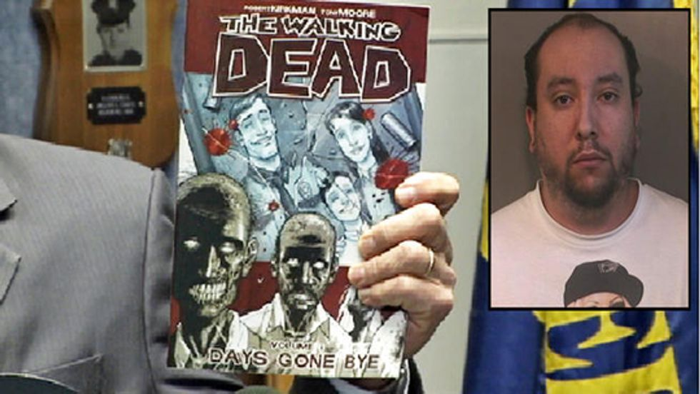 Litigano su The Walking Dead e ci scappa quasi il dead