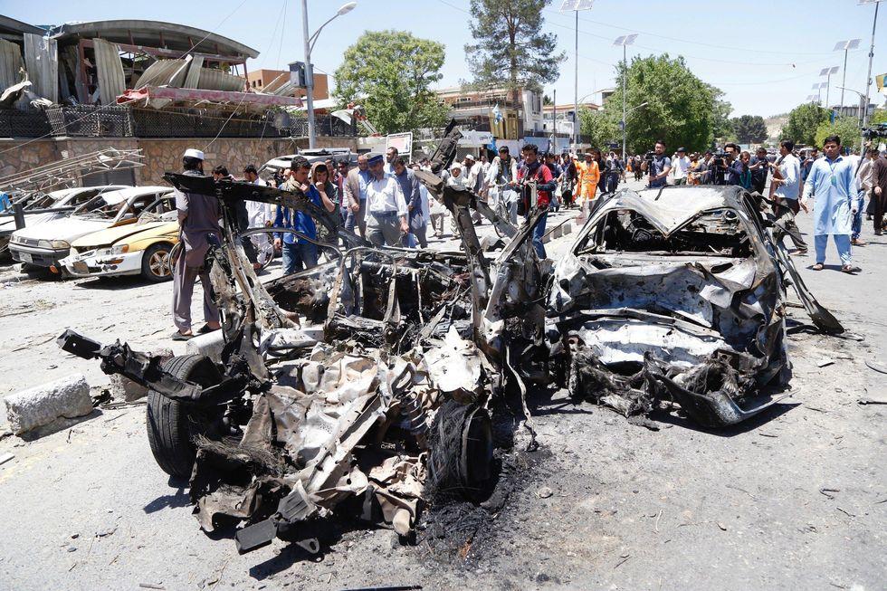 Kabul, autobomba vicino all'ambasciata tedesca: 80 vittime e 350 feriti
