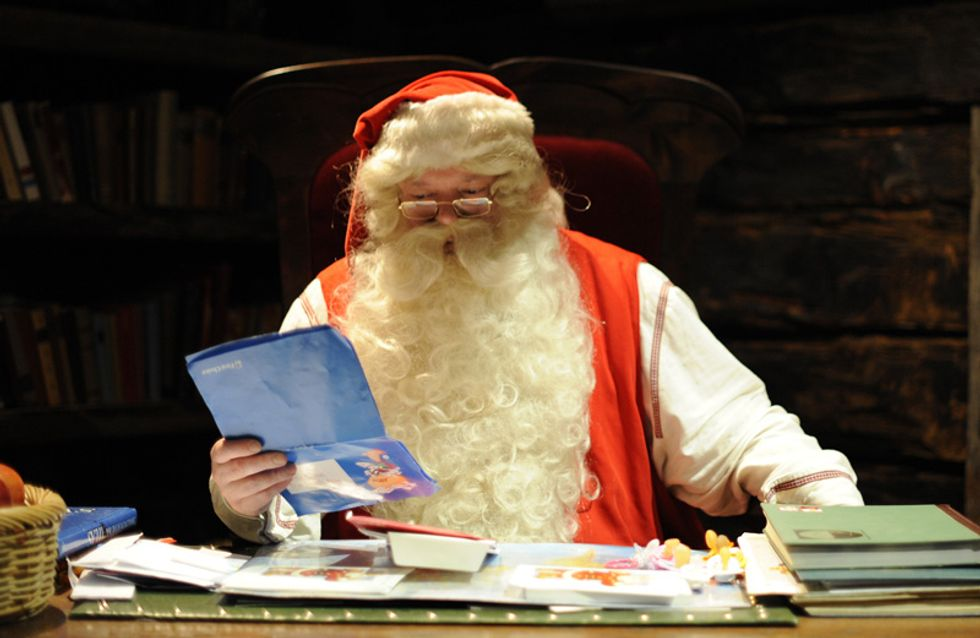 Ma io ci credo un sacco a Babbo Natale!