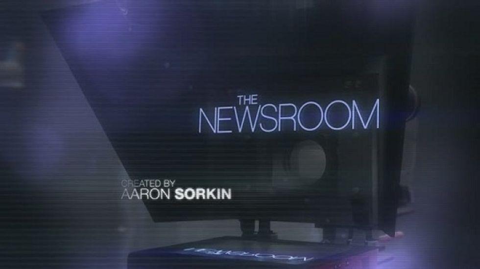 The Newsroom: well done, Mr. Sorkin.