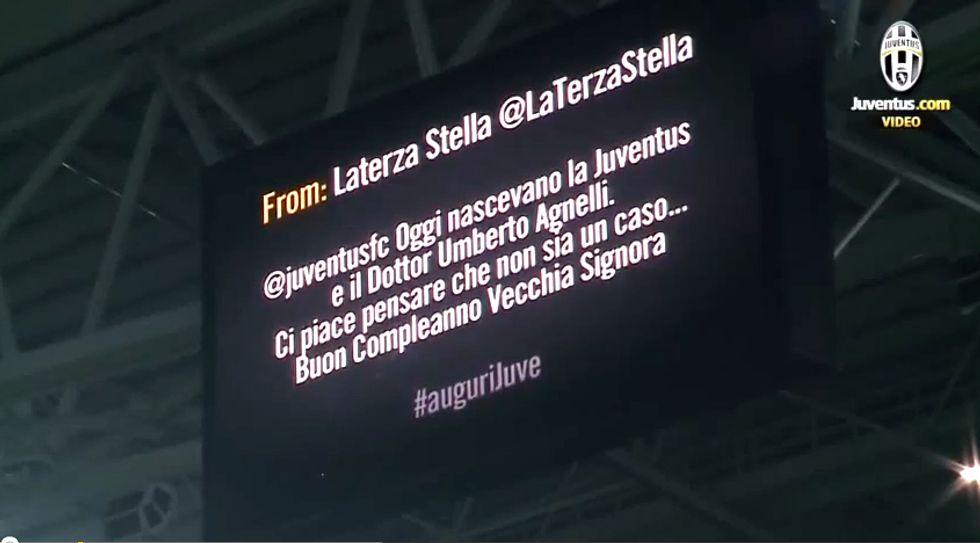 Laterza Stella allo Juventus Stadium…non è mai un caso.