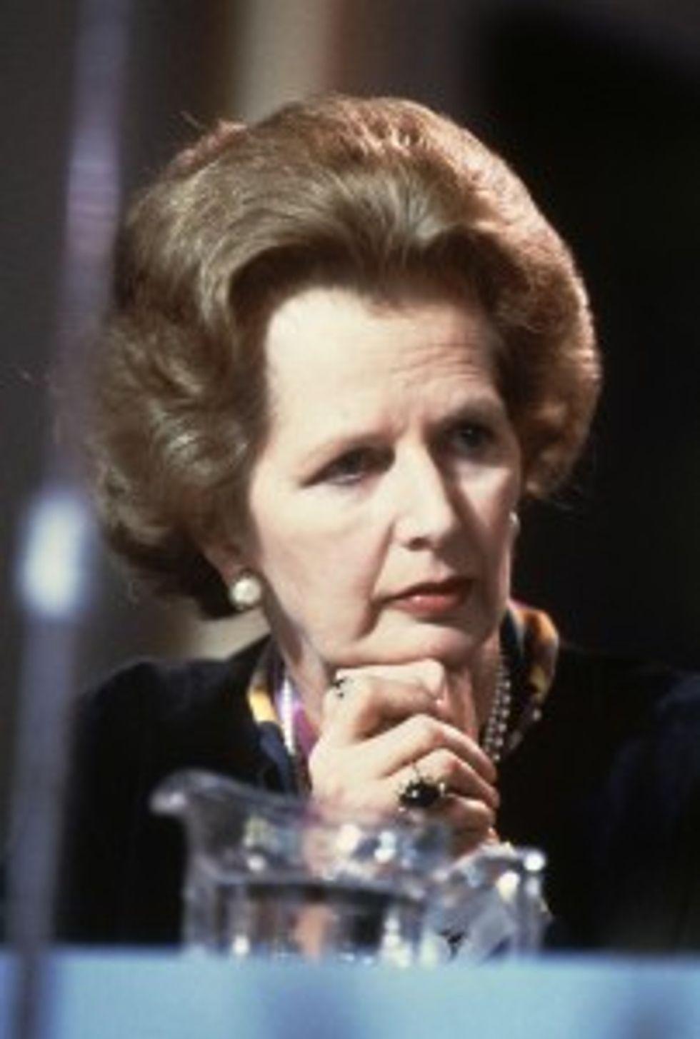 Crisi: Margaret Thatcher e l'intervista impossibile