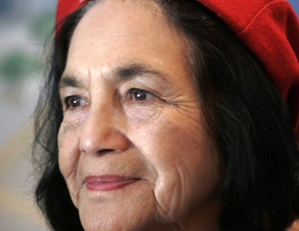 Dolores Huerta, 82 anni e una vita per i diritti dei lavoratori latinos