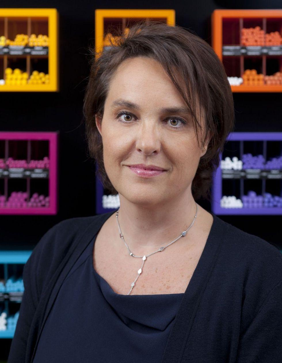 Carole Hubscher e l'impero del colore
