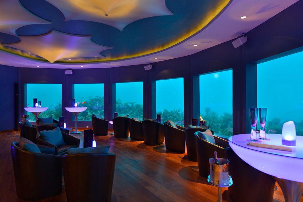 Subsix: alle Maldive il primo nightclub sottomarino