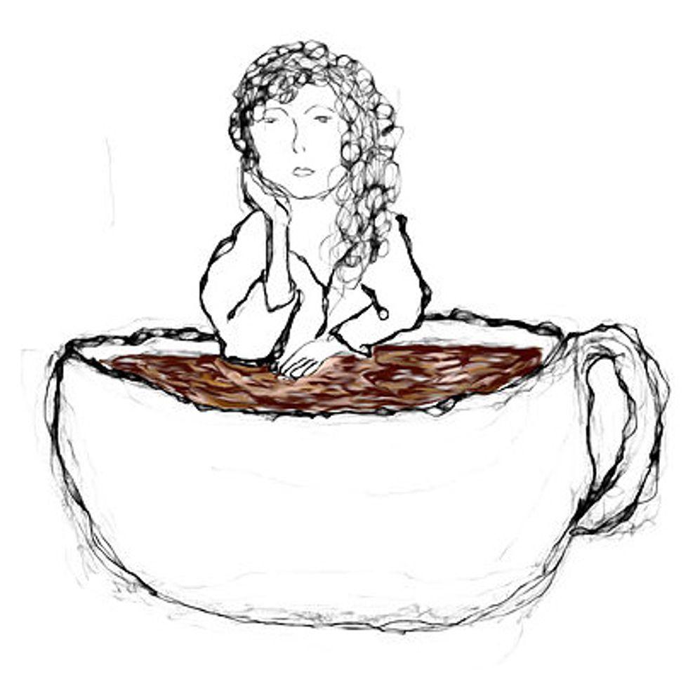 Prima Sfumatura.  Della chiavetta del caffè