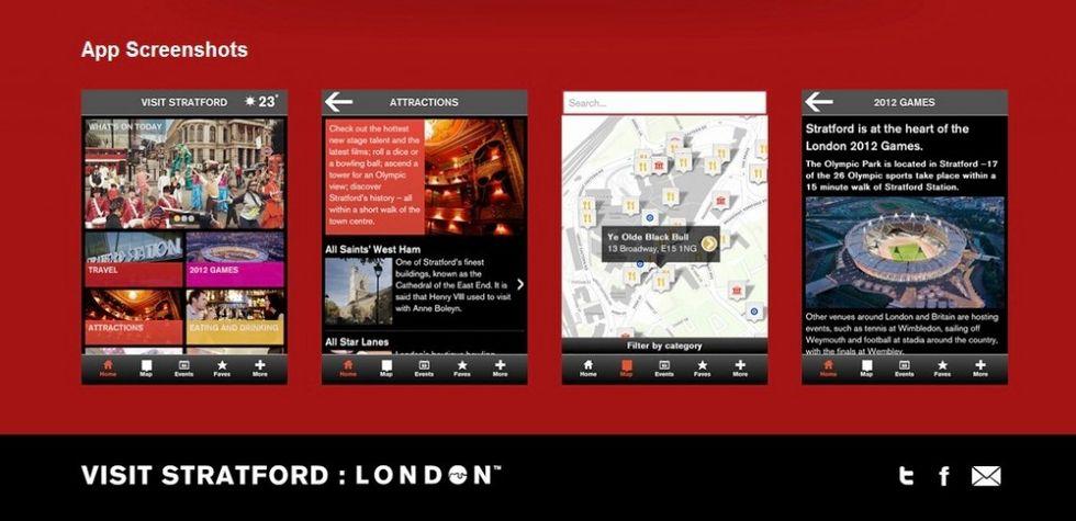 Londra (olimpica e non) in una app