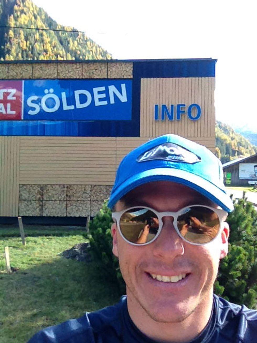 Domenica sveglia presto: c'è Max in gara a Solden!