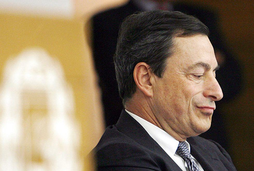 Draghi apre i rubinetti ma il cavallo non beve
