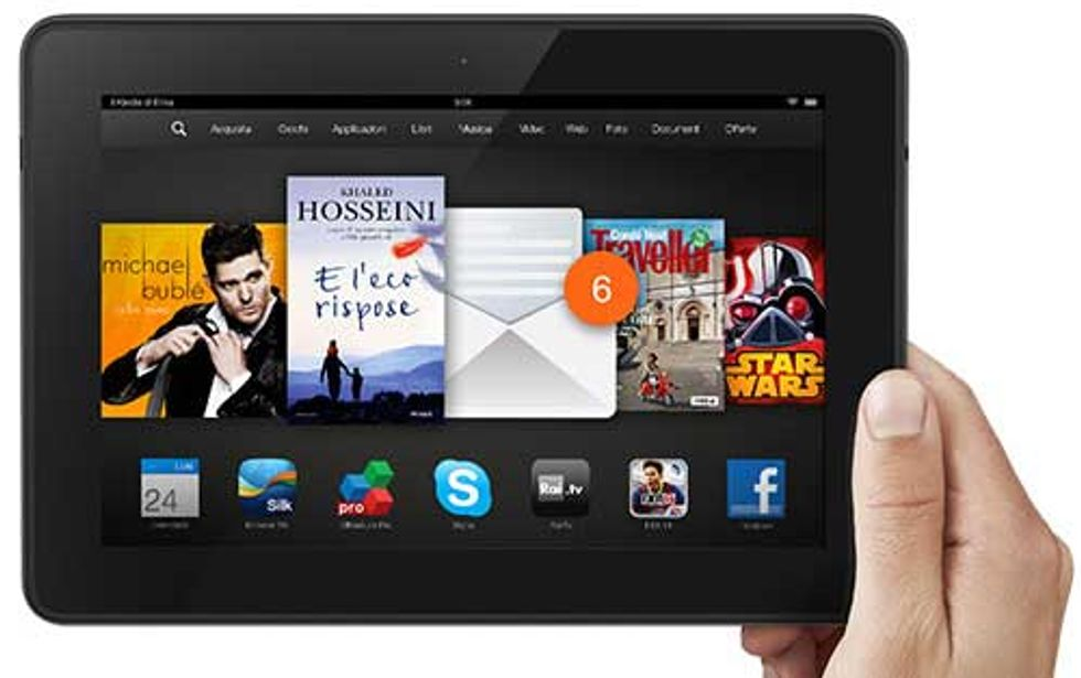 Nuovo Kindle Fire HDX 8,9″: unboxing