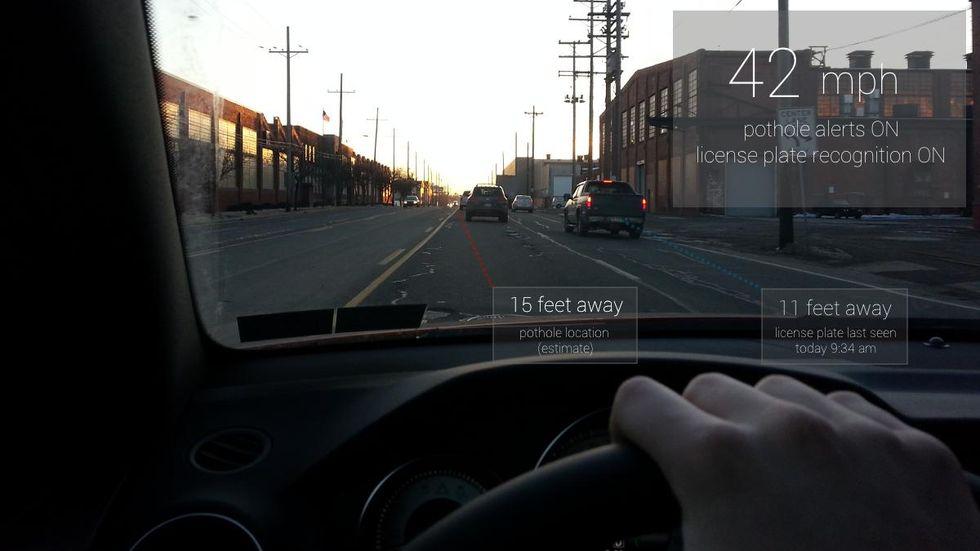 Multa a chi guida con i Google Glass