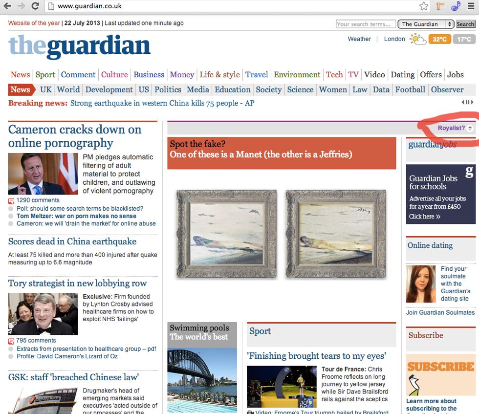 Guardian, un sito bipartisan