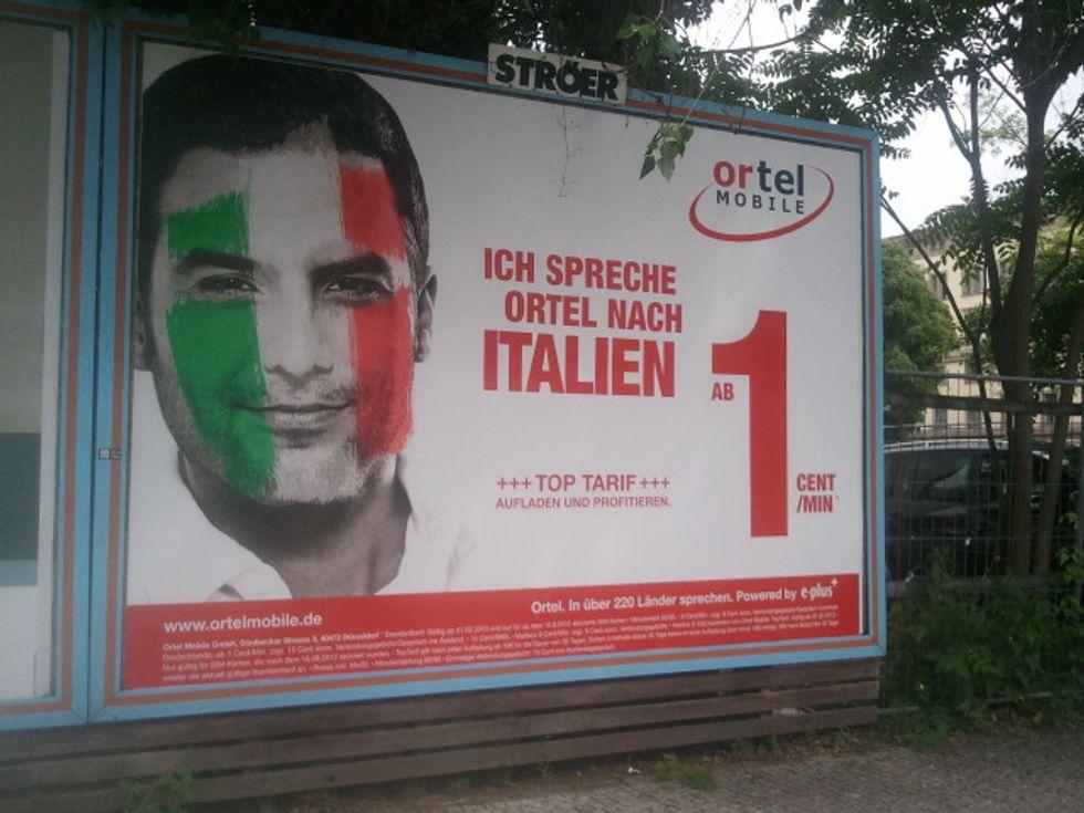 L'offerta telefonica tedesca rivolta all'immigrato italiano che vuole risparmiare