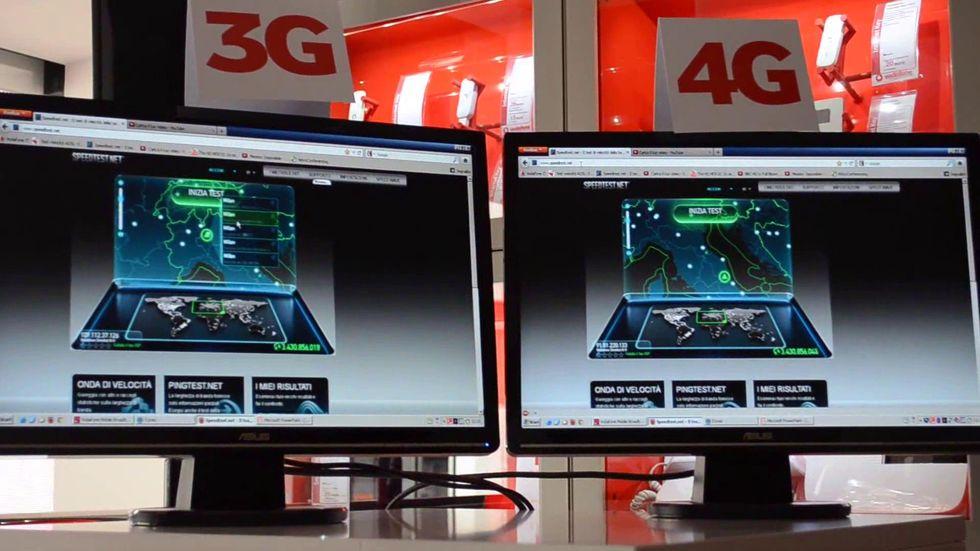 Quanto è veloce il 4G? Ce lo spiega Vodafone
