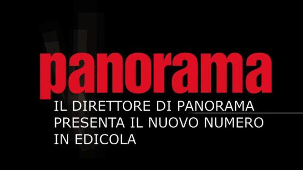 Giorgio Mulè presenta il numero di Panorama in edicola