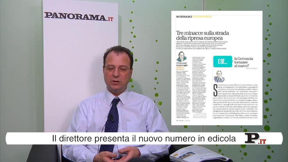 Il direttore Giorgio Mulè presenta il nuovo numero di Panorama in edicola dal 28 giugno