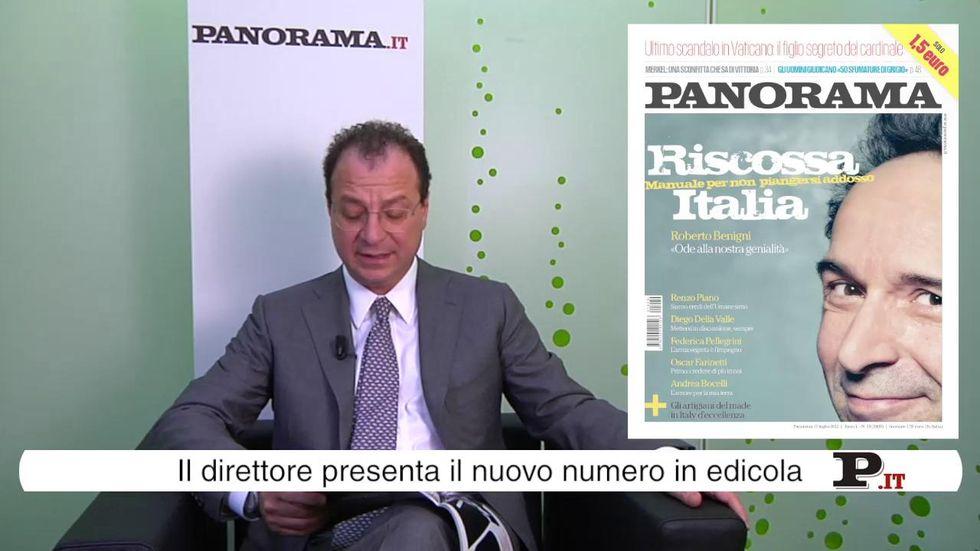 Il direttore Giorgio Mulè presenta il nuovo numero di Panorama in edicola dal 5 luglio