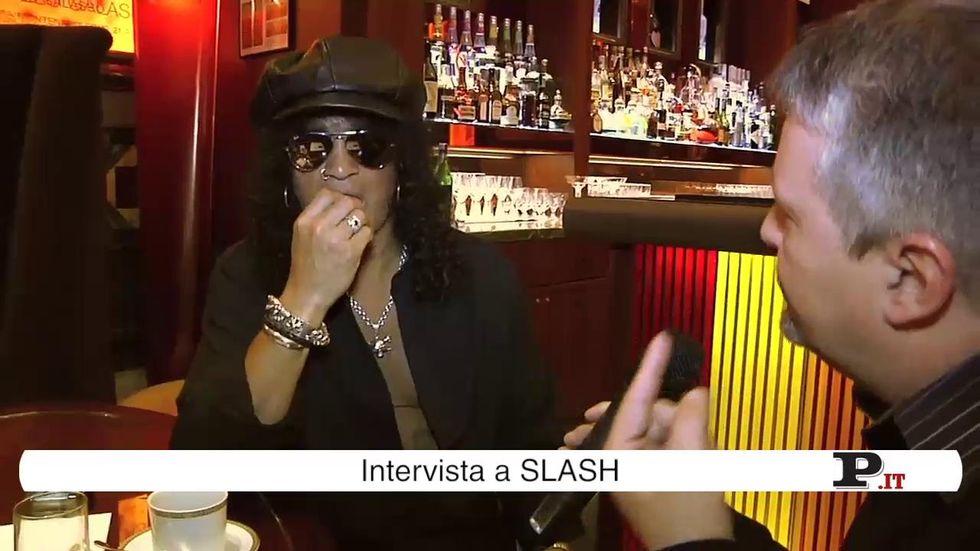 Slash: il rock sono io - videointervista